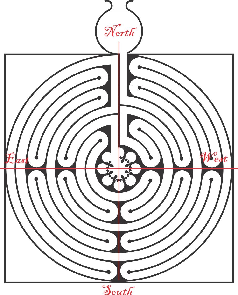 The vitruvian square the labyrinth part 1 scott grossberg vitruvian labyrinth cardinal points buycottarizona Image collections